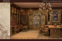кабинет для загородного дома